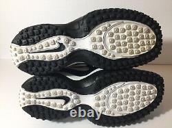 BRAND NEW Condition Rare Vintage 1999 Sz 9 Nike Zoom Air Turf Shoes White Black