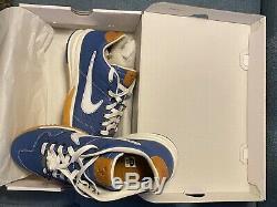 Baseballism Nike Alpha Huarache 2 Turf Baseball Shoe 9.5 Mens (Blue)