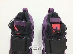Brand New 2017 Men Nike Air Max Speed Turf Deion Sanders white purple shoes OG