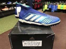 Brand New Adidas Predator 18+ Tf Laceless Turf Shoe Deadly Strike Pack