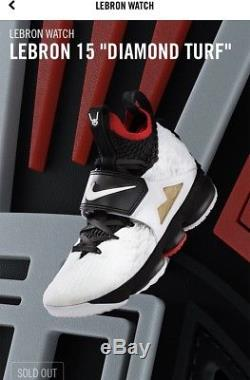 purchase cheap 9cbd2 d1edb Brand New Deadstock Men's Nike Lebron Diamond Turf Size 13 ...