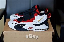 Ds Men's 2012 Nike Air Max Speed Turf 49ers Size 11.5 White