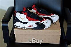 Ds Men's 2012 Nike Air Max Speed Turf 49ers Size 11.5 White/gold/black/gym Red