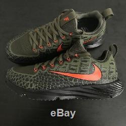 FLORIDA GATORS Nike NCAA Vapor Speed Turf Shoes Swamp Skin 924775-280 Men's 9 US