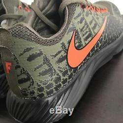 FLORIDA GATORS Nike NCAA Vapor Speed Turf Shoes Swamp Skin 924775-280 Mens 11.5