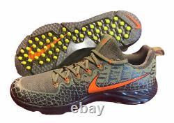 FLORIDA GATORS Nike NCAA Vapor Speed Turf Shoes Swamp Skin Mens Size 15 NEW
