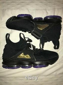 Lebron 15 (XV) Diamond Turf- Basketball Shoe- New- Men's Size (12)- Black/Purple