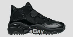 MENS NIKE AIR ZOOM TURF FOOTBALL SHOES Sz 6 Black 644104 004