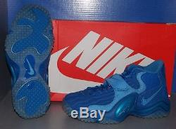 MENS NIKE AIR ZOOM TURF JET'97 NFL in colors BLUE / BLUE / COAST SIZE 9