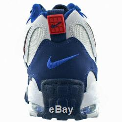 MEN'S NIKE AIR MAX SPEED TURF TRAINING SHOES Size10.5 White/Red/Blue BV1165-100