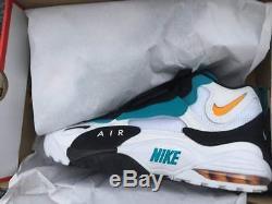 new arrival 151bc 290bf Men s Dan Marino Nike Air Max Speed Turf Miami Dolphins 525225-100 BNIB