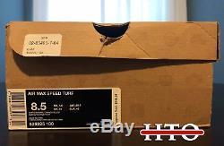 Men's NIKE AIR MAX SPEED TURF Dan Marino Miami Dolphins Size (8.5) 525225-100