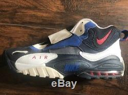 Men's Nike AIR MAX SPEED TURF New York Giants football 525225-401 Size 12