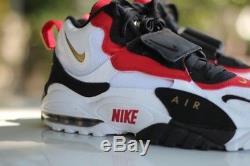 Men's Nike Air Max Speed Turf 49ers White Black Gold 525225 101 BNIB
