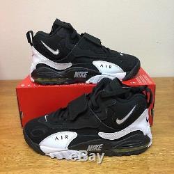 Men's Nike Air Max Speed Turf Training Black/White 525225-011 Size 8-11.5