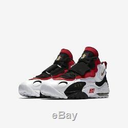 Men's Nike Air Max Speed Turf White Metallic Gold Black Size 12 525225 101 NIB