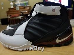 Men's Nike Air Zoom Vick 3 III Atlanta Falcons Turf Trainers 832698-001 Sz 11
