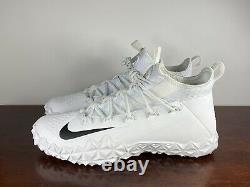 Men's Nike Alpha Huarache 6 Elite Turf Football LAX Shoes 923426-107 Size 12