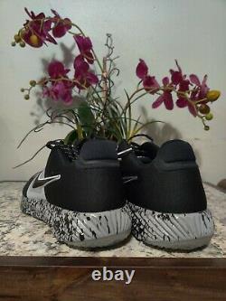 Men's Nike Alpha Huarache Elite 2 Turf Baseball Shoes Black AV2472-001 Size 12