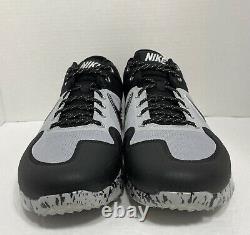 Men's Nike Alpha Huarache Elite 2 Turf Baseball Shoes Black AV2472-001 Size 13