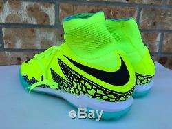 Men's Nike Hypervenom X Proximo TF Turf Soccer Shoes Volt Size 9.5 747484 700