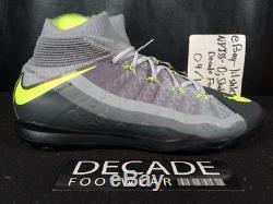 Men's Nike Hypervenomx Proximo II Df Tf Turf 10.5-11 Soccer Cleats 852576 071