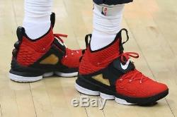 d6be9e426882f Men s Nike LeBron XV 15 Red Diamond Turf White (AO9144-600) Size 11 DS  Supreme