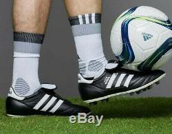 Mens Adidas Copa Mundial Turf Soccer Football Cleats Black White Shoes 015110