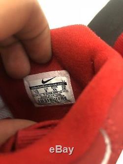 Mens Nike Air Diamond Turf Max 96 Varsity Red White 2013 Release Deadstock