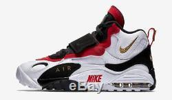 Mens Nike Air Max Speed Turf 525225-101 White/Metallic Gold Brand New Size 11