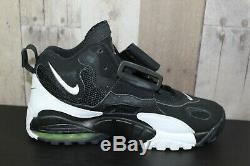 Mens Nike Air Max Speed Turf Black White Voltage Sz 9 Shoes (Look See Samples)