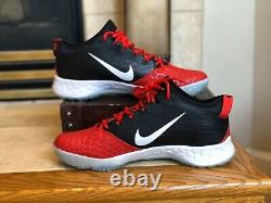 Mens Nike Force Zoom Trout 5 Turf Shoes AH3374-601 Size 14 SZ Trout Air Red GYM
