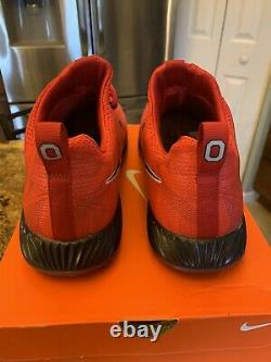 Mens Nike Vapor Speed Turf Ohio State Osu Buckeyes Shoes Size 10 2017