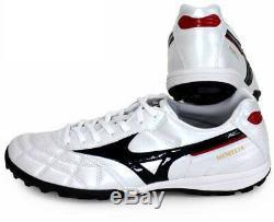 Mizuno JAPAN MORELIA TF Turf Indoor Soccer Football Futsal Shoes Q1GB1902 White
