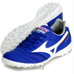 Mizuno JAPAN MORELIA TF Turf Indoor Soccer Football Futsal Shoes Q1GB2001 Blue