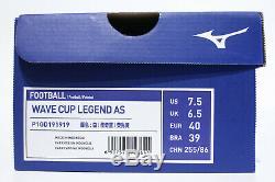 Mizuno Wave Cup Legend AS TF US7.5 P1GD191919 JAPAN Rivaldo Morelia neo II Turf