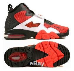 NEW Nike Air Diamond Turf VI Men Shoes, Black/Red/White, 725155-001, Size