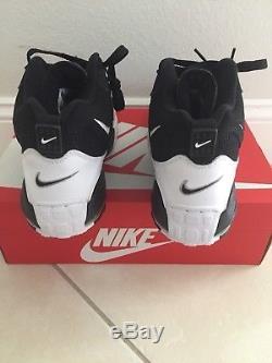 NEW Nike Air Max Speed Turf Black White Yellow 525225-011 Mens Shoes 11