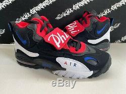 NEW Nike Air Max Speed Turf Philadelphia 76ers Shoes Mens 10.5 Sixers Black