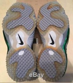 NEW Nike Air Zoom Turf Jet 97 NFL 554989-001 Splash Packers Mens size 10.5