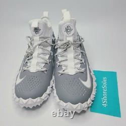 NEW Nike Men's SIZE 12 Alpha Huarache 6 Elite LAX/Football Turf Shoes 923426-102