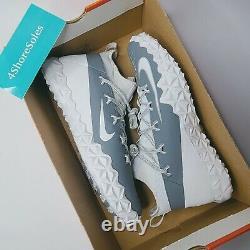NEW Nike Men's SIZE 14 Alpha Huarache 6 Elite LAX/Football Turf Shoes 923426-102