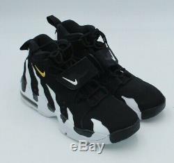 NEW Nike Men's Sz 11 Deion Sanders Air DT Max'96 Diamond Turf Shoe Black/White