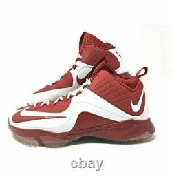 NEW Nike sz 13 Air Max MVP Elite 2 Nubby Baseball Turf Shoes Red 739394-610