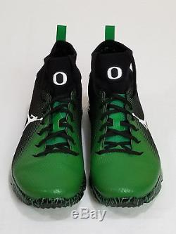 NEW Oregon DUCKS Football PROMO SAMPLE Nike JORDAN VAPOR SPEED TURF 2 Men's 10