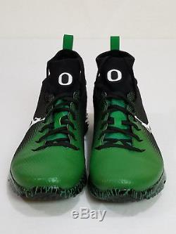NEW Oregon DUCKS Football PROMO SAMPLE Nike JORDAN VAPOR SPEED TURF 2 Men's 10