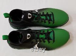 NEW Oregon DUCKS Football PROMO SAMPLE Nike JORDAN VAPOR SPEED TURF 2 Men's 10.5