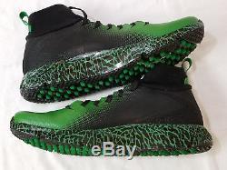 NEW Oregon DUCKS Football PROMO SAMPLE Nike JORDAN VAPOR SPEED TURF 2 Men's 14