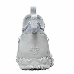 NIB Nike Alpha Huarache 6 Elite Turf LAX Men Size 11 White Shoes 923426-107