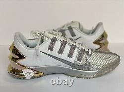 NIKE AIR FORCE ZOOM TROUT 7 TURF Baseball Training Shoe Size 11.5 CQ7225-101 NEW